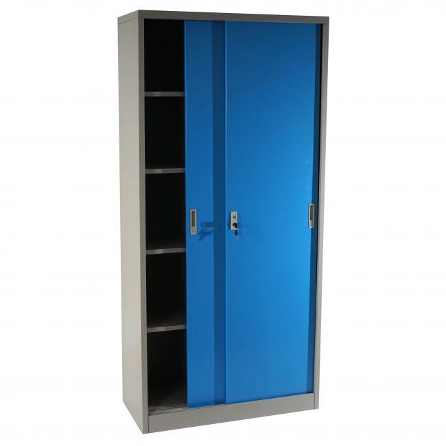 Armario con puertas corredizas