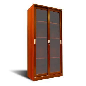 Armario con puerta de vidrio