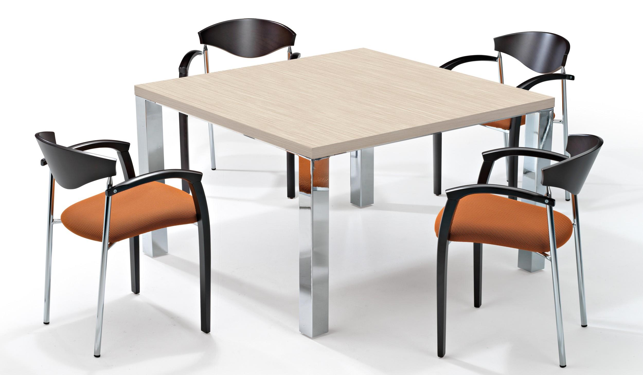 Mesa de reuniones cubo