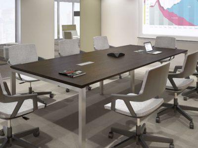 Mesa de reuniones de 8 sillas